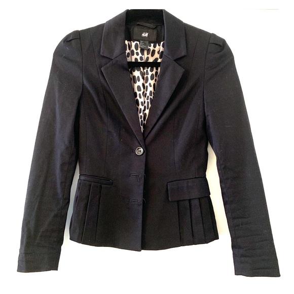 H&M Jackets & Blazers - H&M black blazer